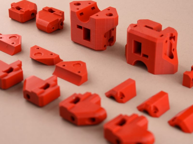 Parts for the ForkLIFT MK1 CoreXY 3D Printer