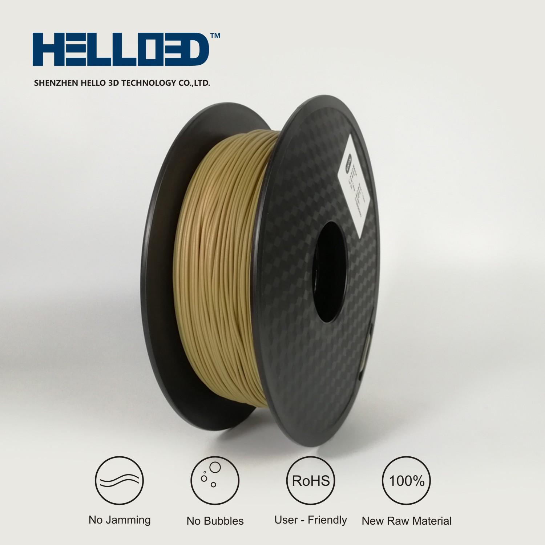 HELLO3D WOOD PLA Filament