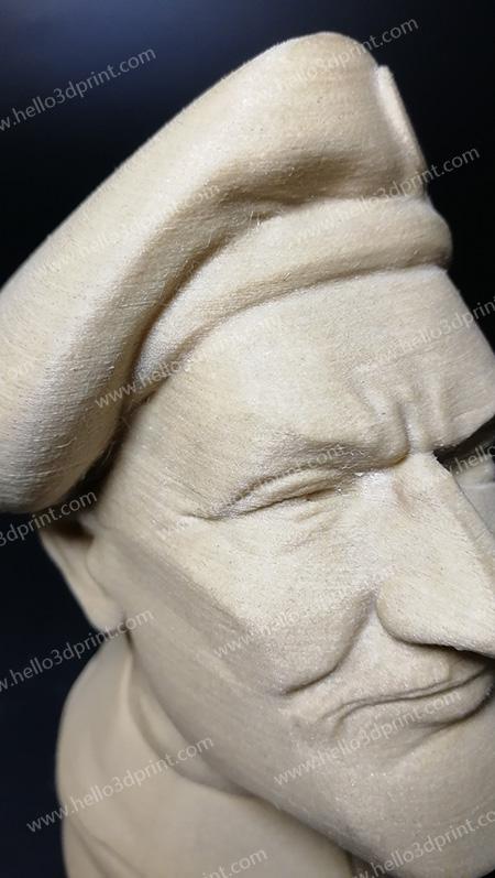 HELLO3D WOOD PLA 3D print